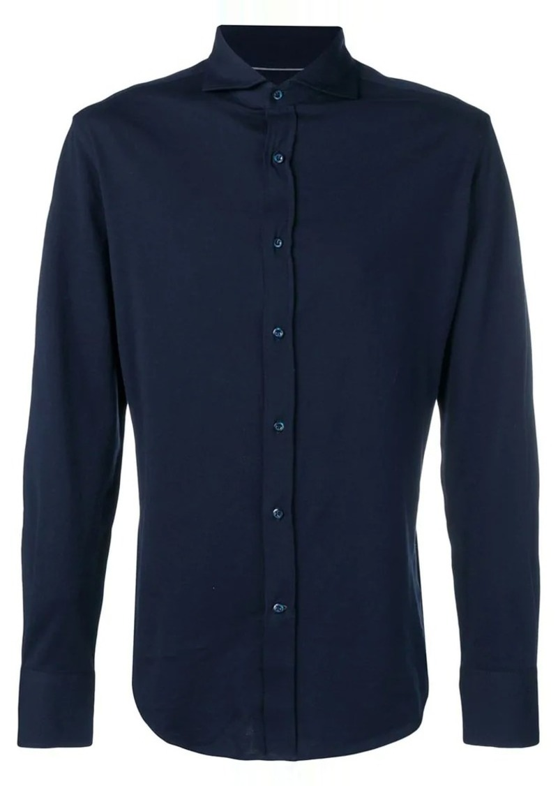 Brunello Cucinelli buttoned jersey shirt