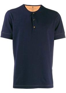 Brunello Cucinelli buttoned T-shirt
