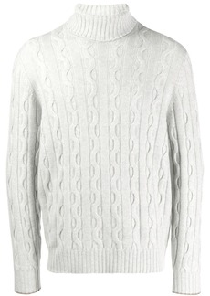 Brunello Cucinelli cable-knit jumper