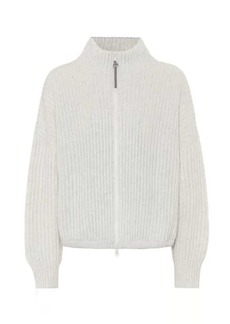 Brunello Cucinelli Cashmere-blend jacket