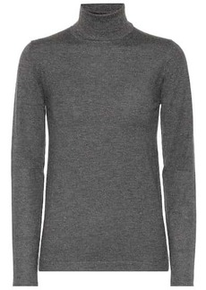 Brunello Cucinelli Cashmere-blend turtleneck sweater