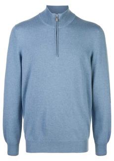 Brunello Cucinelli cashmere half-zip jumper