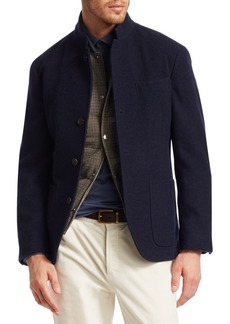 Brunello Cucinelli Cashmere Patch Pocket Jacket