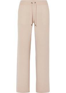 Brunello Cucinelli Cashmere Wide-leg Track Pants