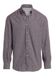 Brunello Cucinelli Check Sport Shirt