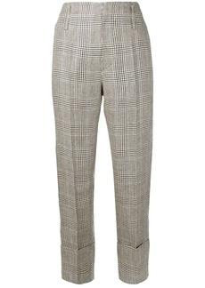 Brunello Cucinelli check trousers