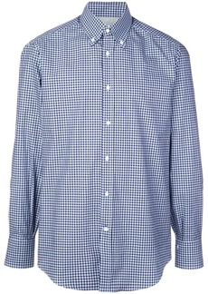 Brunello Cucinelli checked button-down shirt