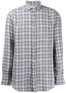 Brunello Cucinelli checked button shirt