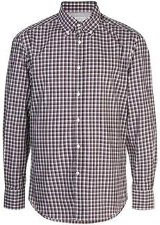 Brunello Cucinelli checked shirt