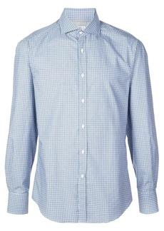 Brunello Cucinelli checked slim-fit shirt