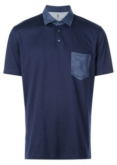 Brunello Cucinelli chest pocket polo shirt