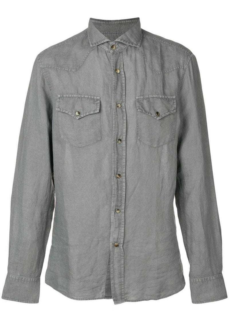 Brunello Cucinelli chest pocket shirt