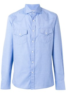 Brunello Cucinelli chest pockets shirt