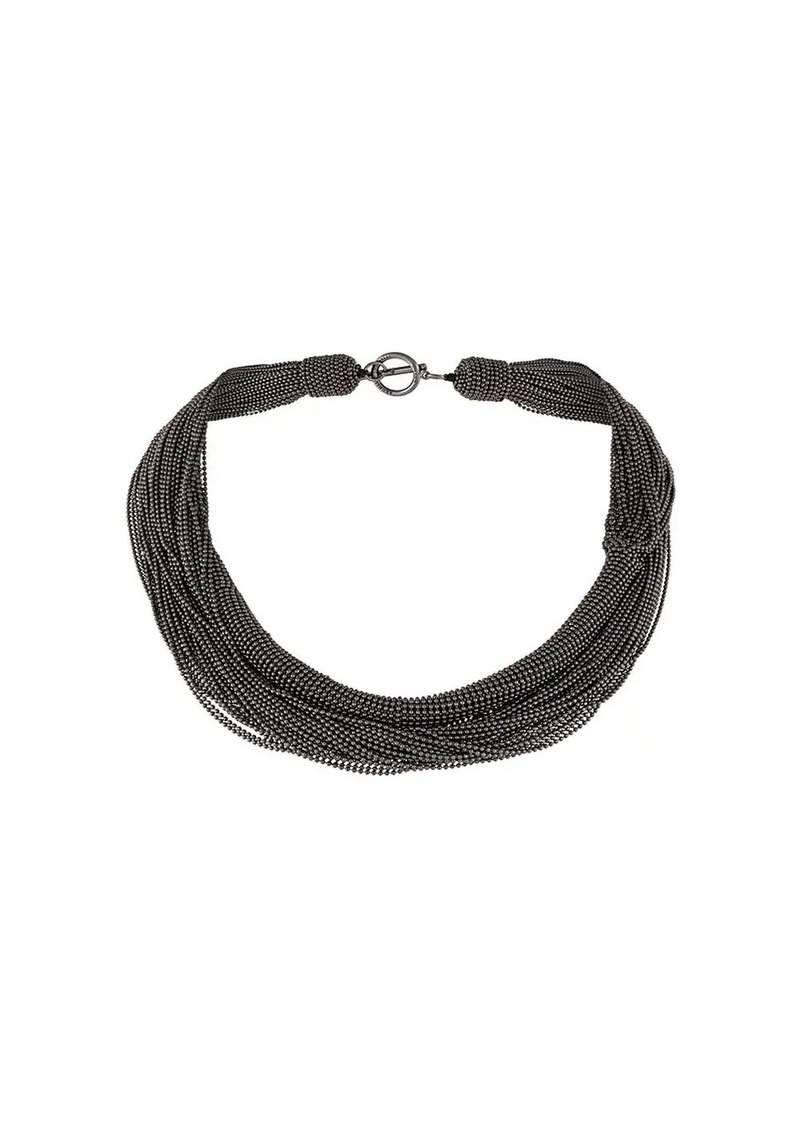 Brunello Cucinelli choker necklace