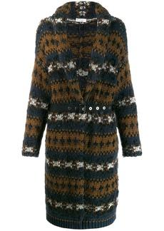 Brunello Cucinelli chunky knit cardi coat