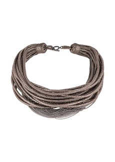 Brunello Cucinelli chunky slim chain necklace