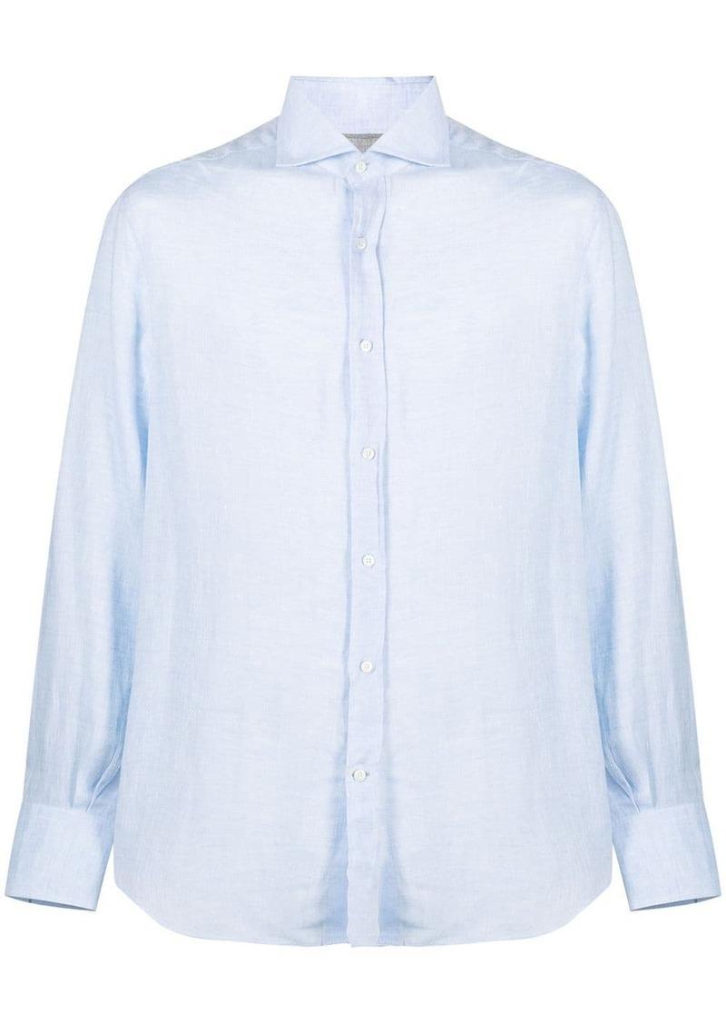Brunello Cucinelli classic cotton collar