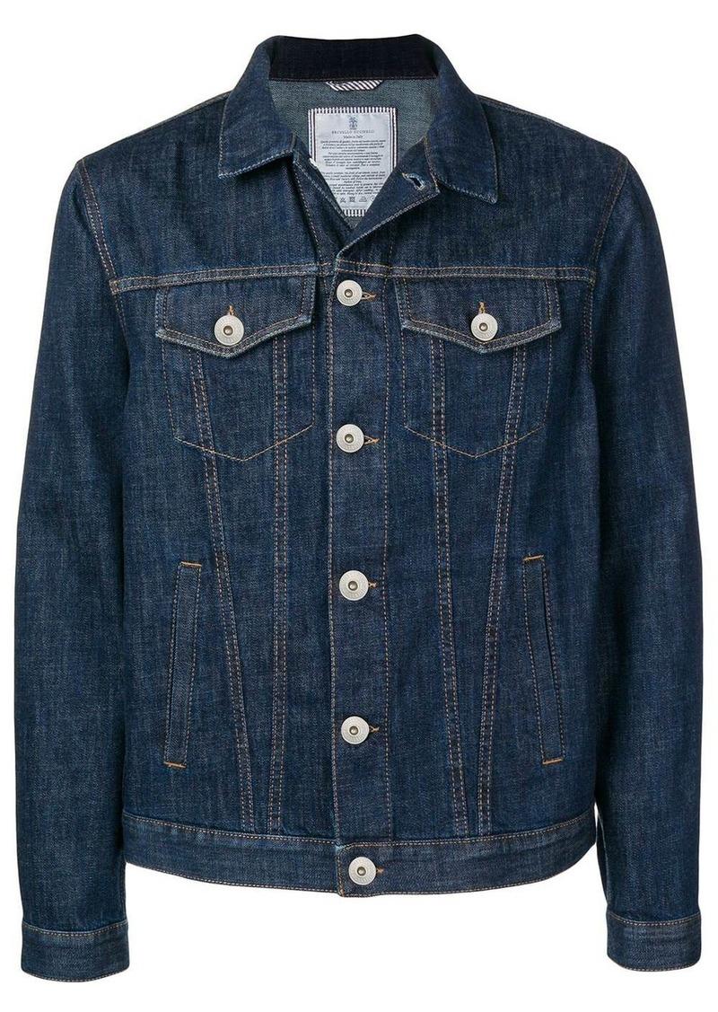 Brunello Cucinelli classic denim jacket