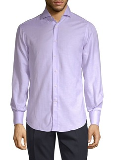 Brunello Cucinelli Classic Long-Sleeve Button-Down Shirt