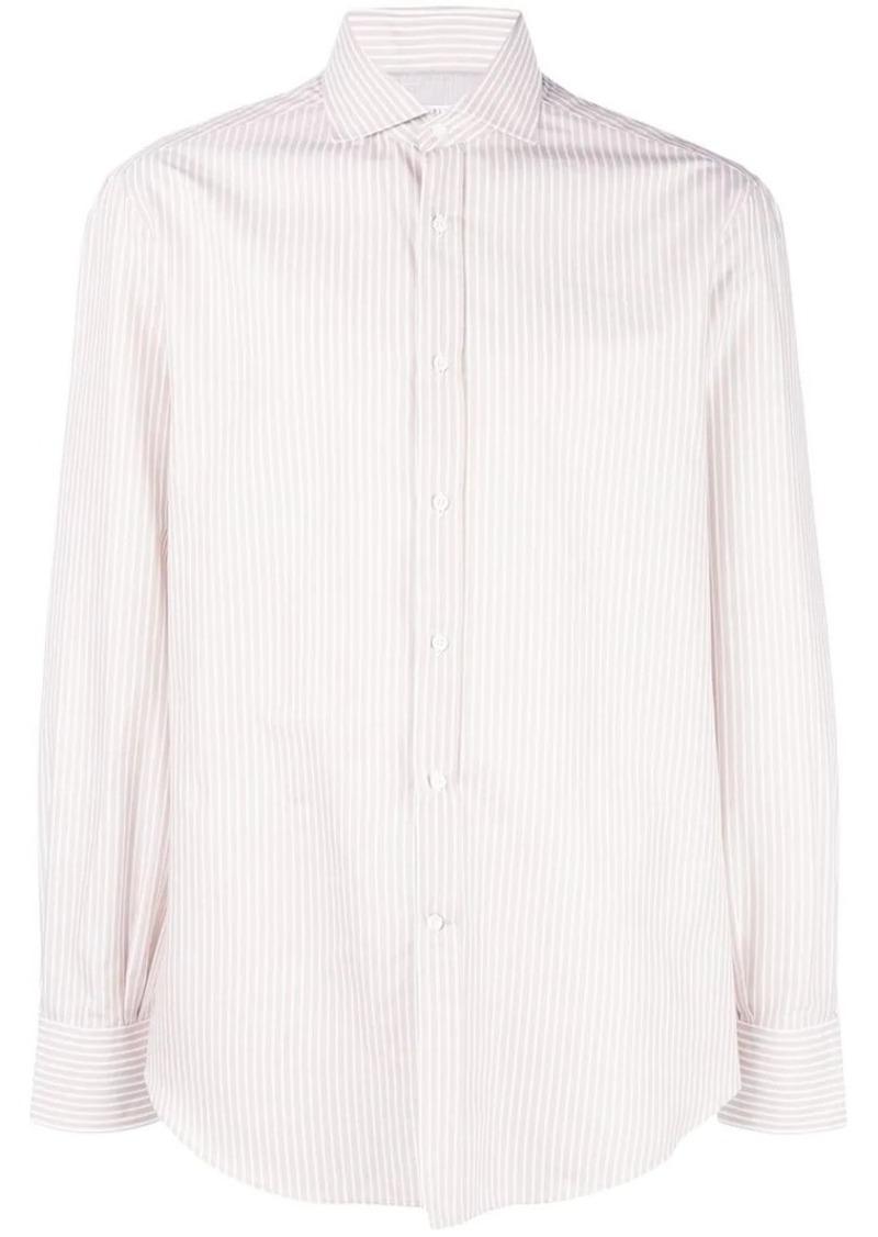 Brunello Cucinelli classic stripe shirt