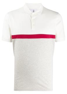 Brunello Cucinelli colour-block polo shirt