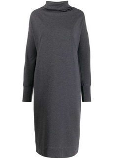 Brunello Cucinelli colour block sweatshirt dress