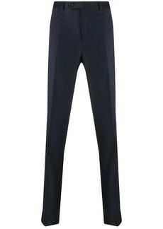 Brunello Cucinelli colour block tailored trousers