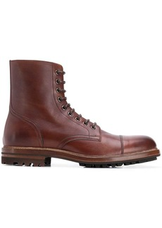 Brunello Cucinelli combat boots