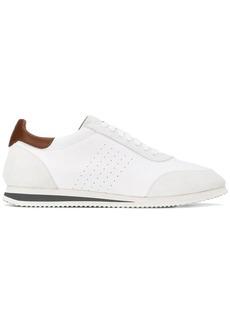 Brunello Cucinelli contrast details sneakers
