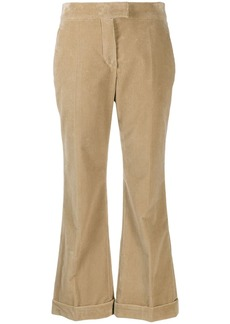 Brunello Cucinelli corduroy cropped trousers