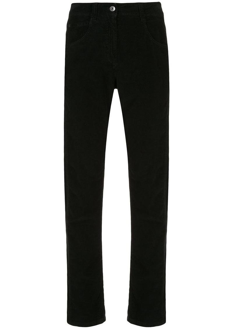 Brunello Cucinelli corduroy high-rise straight jeans