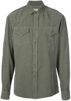 Brunello Cucinelli corduroy western style shirt