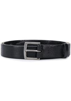 Brunello Cucinelli cracked leather belt