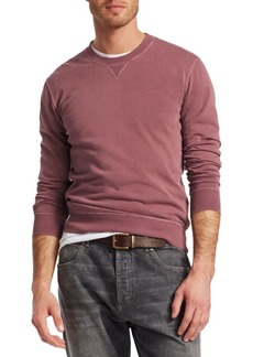 Brunello Cucinelli Crew Cotton Sweatshirt