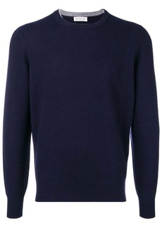 Brunello Cucinelli crew neck slim-fit jumper
