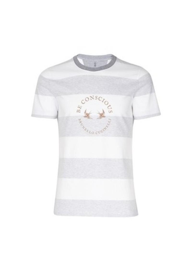 Brunello Cucinelli Crew-neck T-shirt
