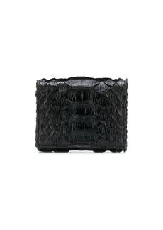 Brunello Cucinelli croc-effect wallet