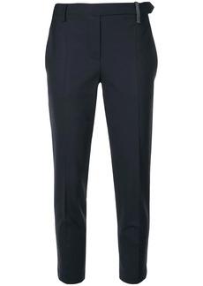 Brunello Cucinelli cropped slim fi trousers