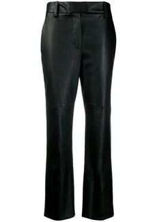 Brunello Cucinelli cropped straight leg trousers