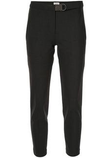 Brunello Cucinelli cropped straight leg trousers