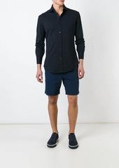 Brunello Cucinelli cutaway collar jersey shirt