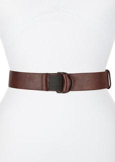Brunello Cucinelli D-Ring Thick Monili Belt