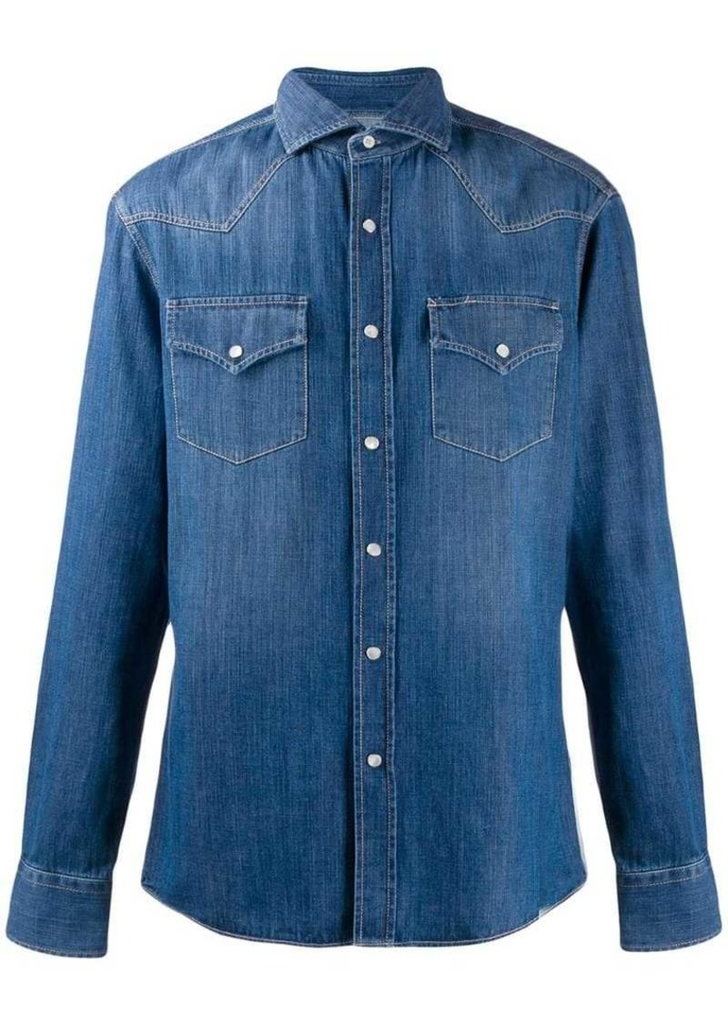 Brunello Cucinelli denim shirt