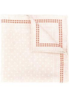 Brunello Cucinelli dotted silk pocket-square