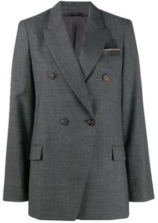 Brunello Cucinelli double breasted blazer