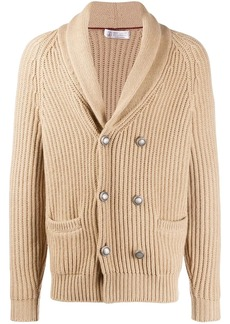 Brunello Cucinelli double-breasted cardigan