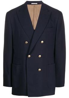Brunello Cucinelli double-breasted regular-fit blazer