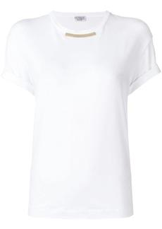 Brunello Cucinelli embellished crew neck T-shirt