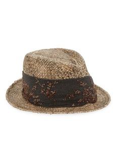 32fac4c4e39 Brunello Cucinelli Velvet Fox Fur Trapper Hat