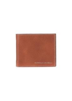 Brunello Cucinelli embossed logo wallet